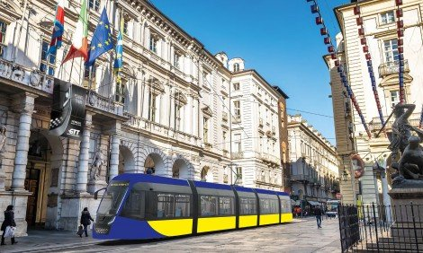 70 NEW TRAMS FOR TURIN CONTRACT GTT - HITACHI RAIL SIGNED TODAY