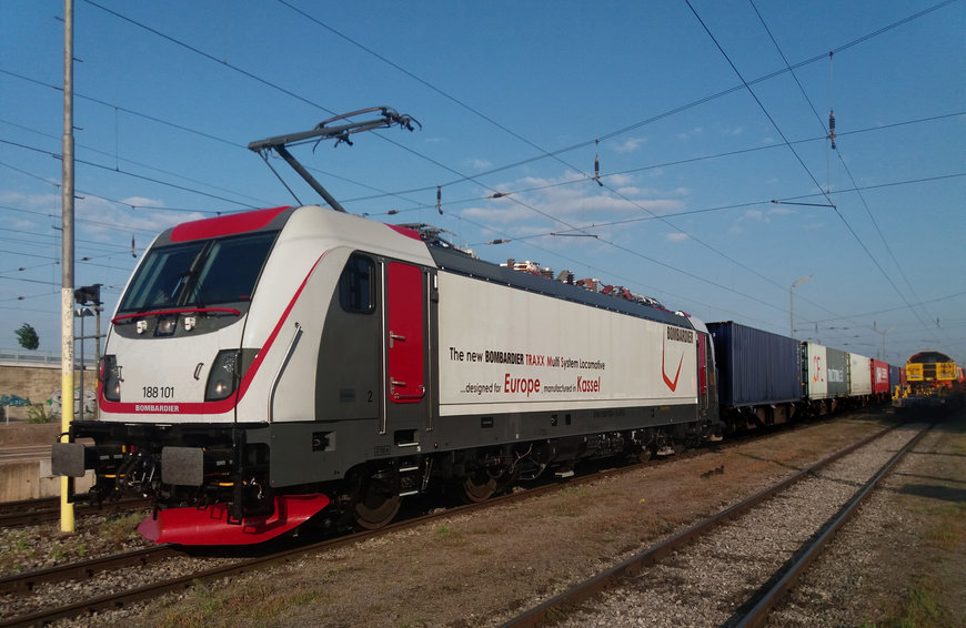 CFL cargo purchases Bombardier Transportation's TRAXX MS locomotives to further expand into European rail market